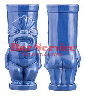"""Стакан д/коктейлей """"Тики"""";керамика 450мл,  голуб. в Пензе"""