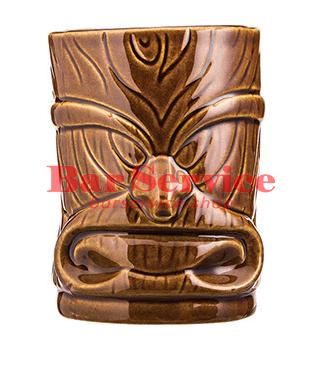 """Стакан д/коктейлей """"Тики"""";керамика 450мл, коричневый. в Пензе"""