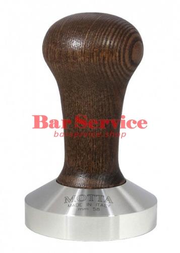 Темпер Мотта 58 мм. (выпуклый) с деревянной ручкой в Пензе