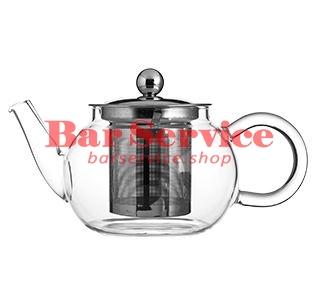 Чайник «Проотель»;  термост.стекло;  0,6л;  D=78мм в Пензе