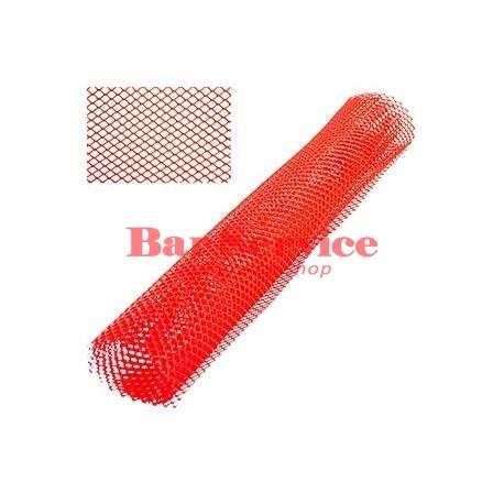 Сетка барная;  полиэтилен;  ,L=100,B=60см;  красный в Пензе