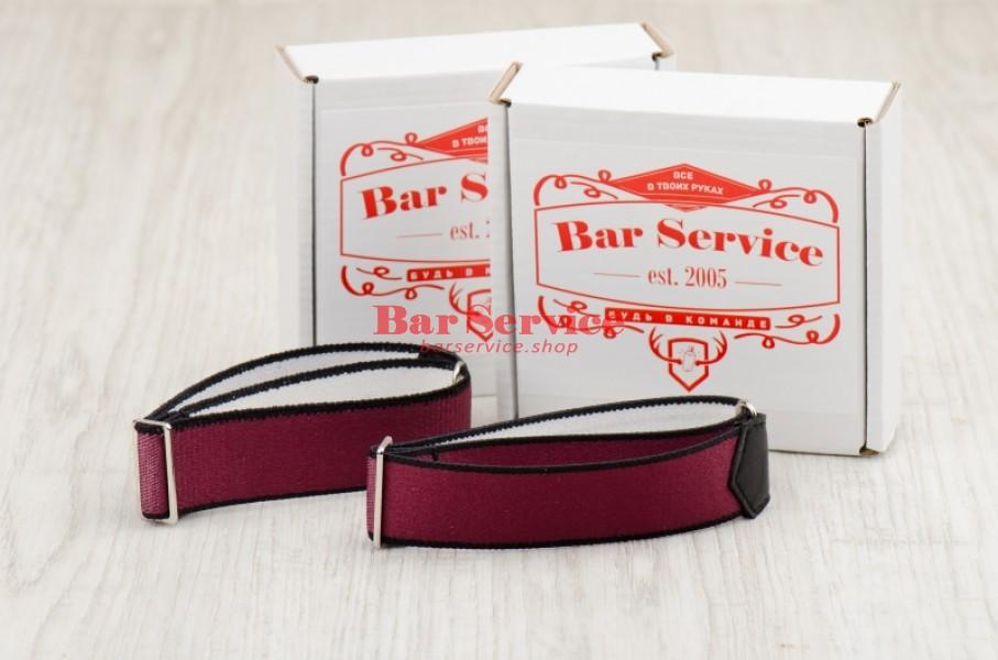 Армбенды, цвет бордо. Bar Service в Пензе