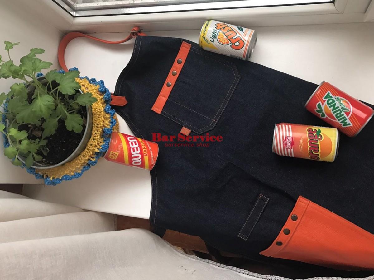 """Фартук барменский """"апельсин"""" в Пензе"""