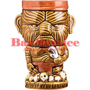 Стакан д/коктейлей «Тики» керамика; 450мл; коричнев. (01170825) в Пензе