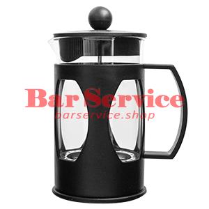 Чайник-кофейник Черный Объем: 600 мл. (френч пресс) в Пензе