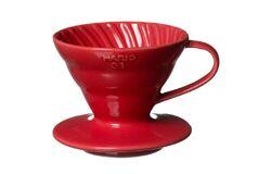 Hario VDC-02R. Воронка керамическая красная. 1-4 чашки в Пензе left