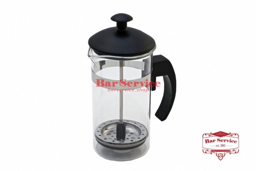 Чайник-кофейник Черный Объем: 350 мл. (френч пресс) в Пензе
